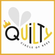 Quilty Circle of Bees