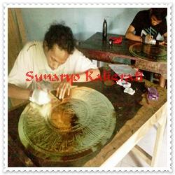 proses jualan kaligrafi