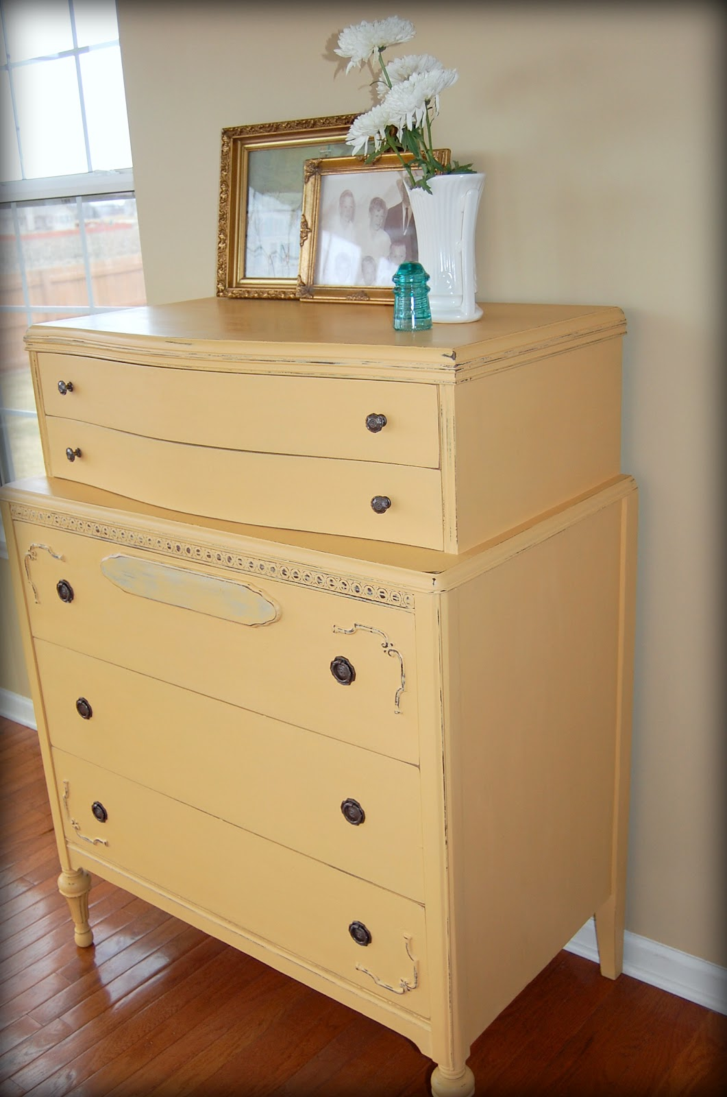 Shades Of Amber Chalk Paint Color Theory Arles: best color to paint dresser