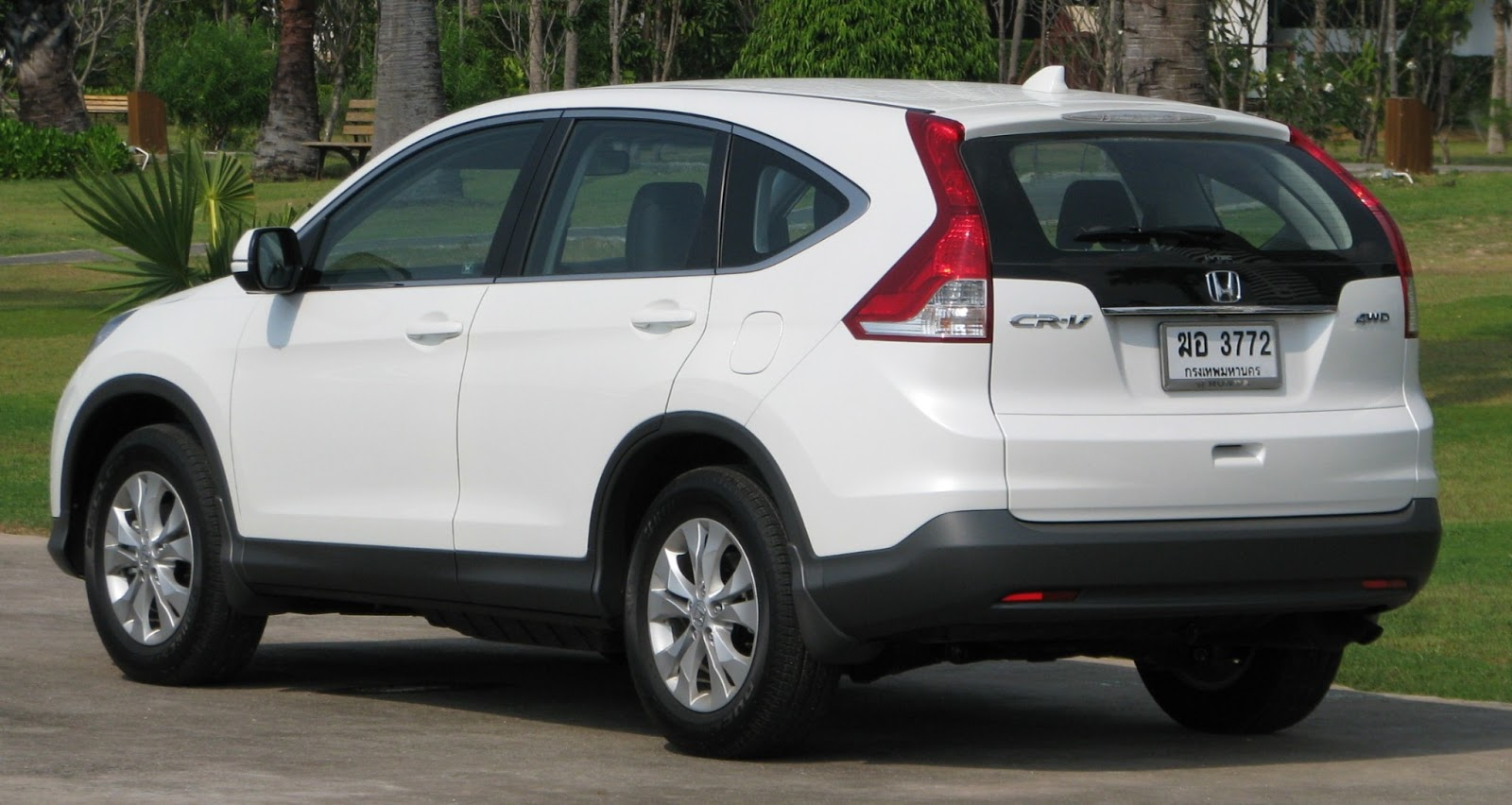 The Honda CR-V very suitable for those family oriented person with