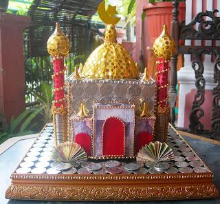 mahar miniatur rumah wadah cincin dan logam mulia mahar logo kopasus ...