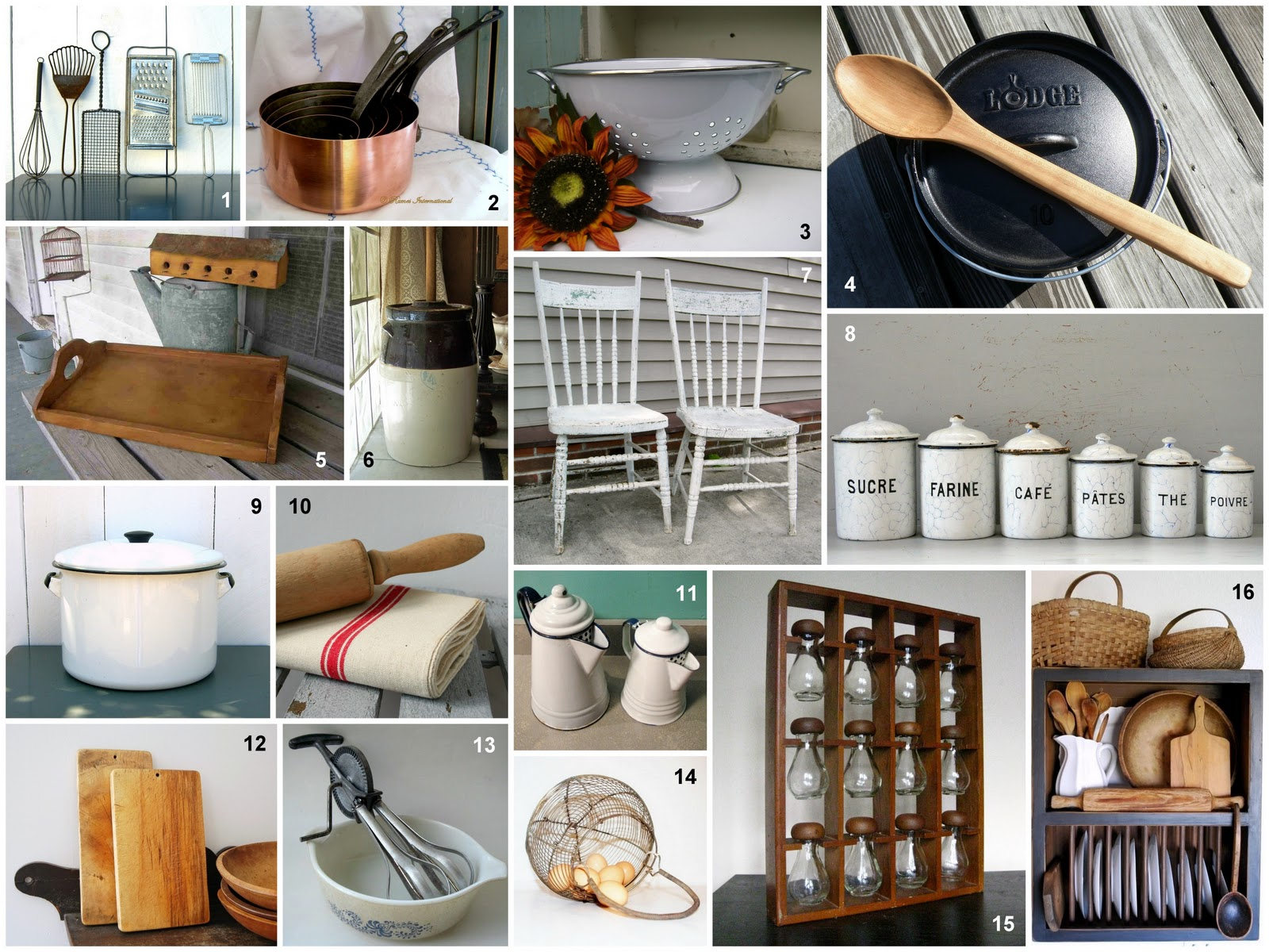 Village country kitchens a guest post by branda for Old farmhouse kitchen ideas