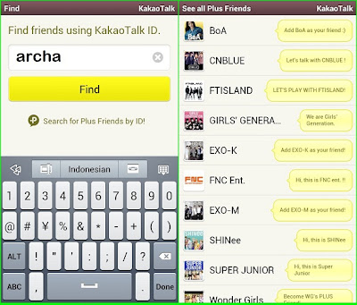 talk cara menggunakan free call cara menggunakan group chat kakao talk