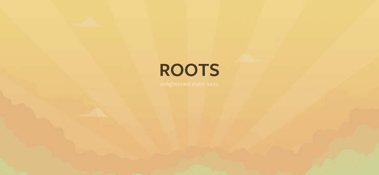 Roots static website generator