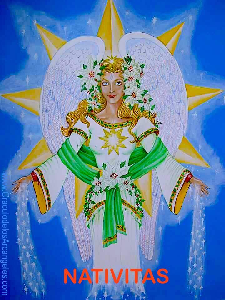 NATIVITAS. ANGEL de la Navidad. Carta de Peticiones