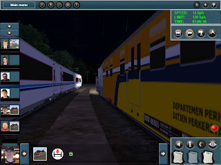 Screnshoot Trainz Simulator 2009 add on indonesia