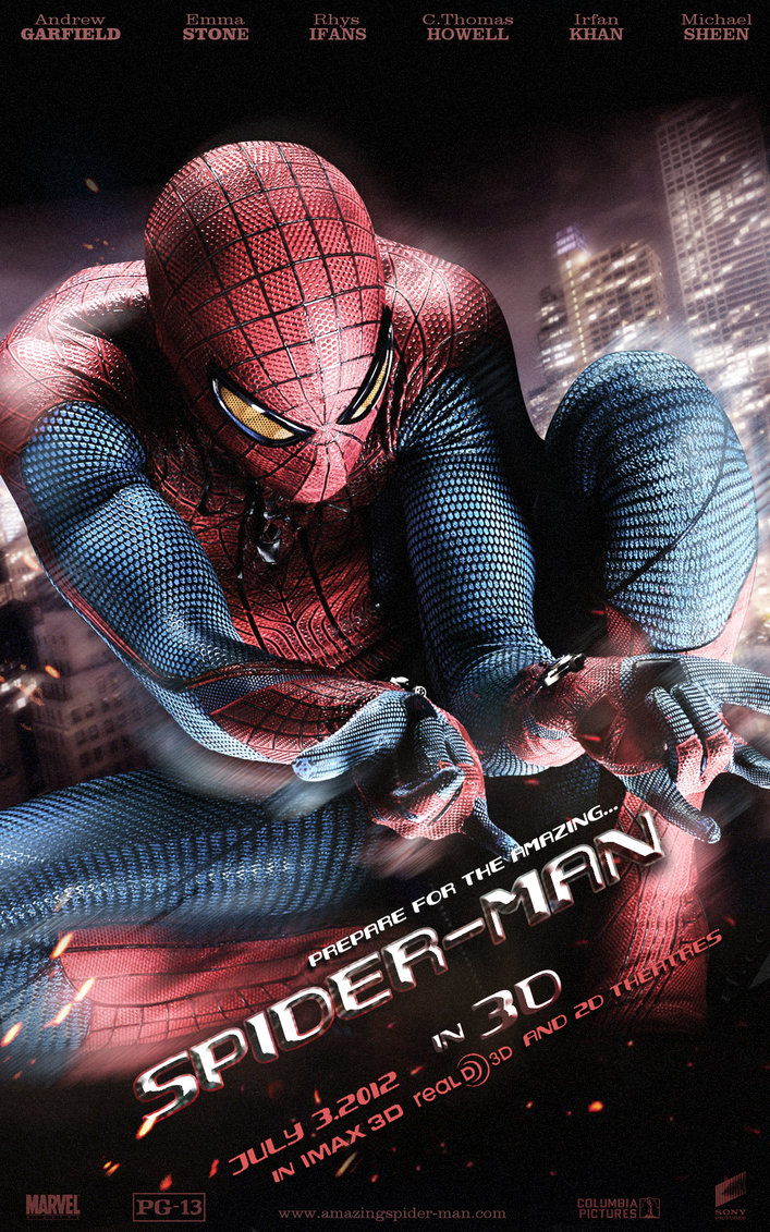 that the title of the film Spider-man amazing next in Spider-man