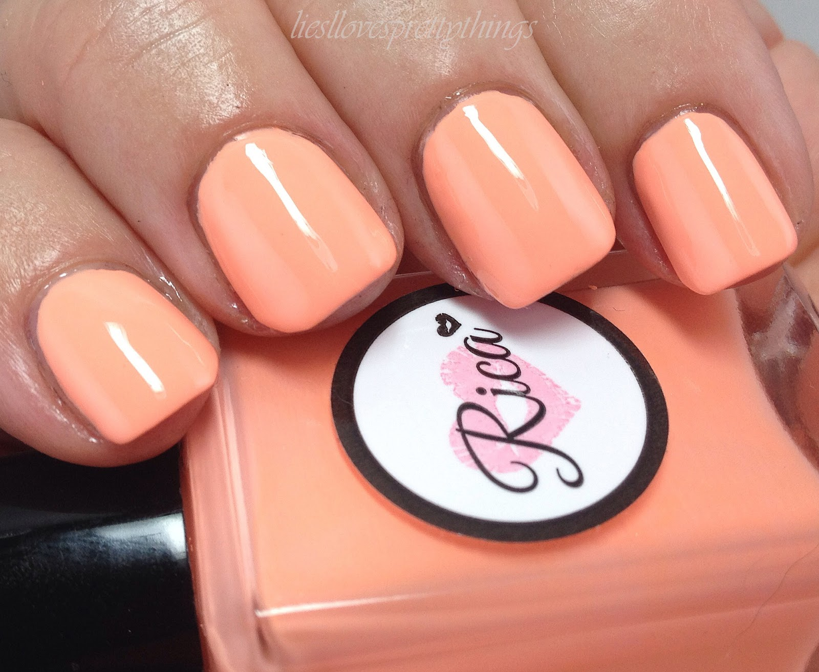 Rica Stamping Polish Ain't It Peachy? swatch and review