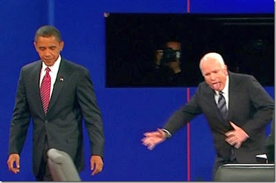 Weird McCain and Obama pictures