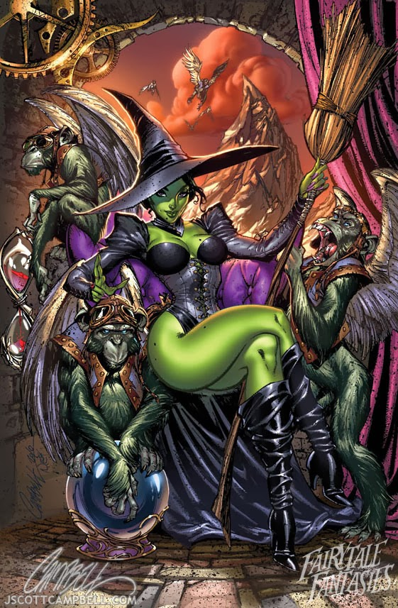 the wicked witch of the west Fairytale Fantasies Disney