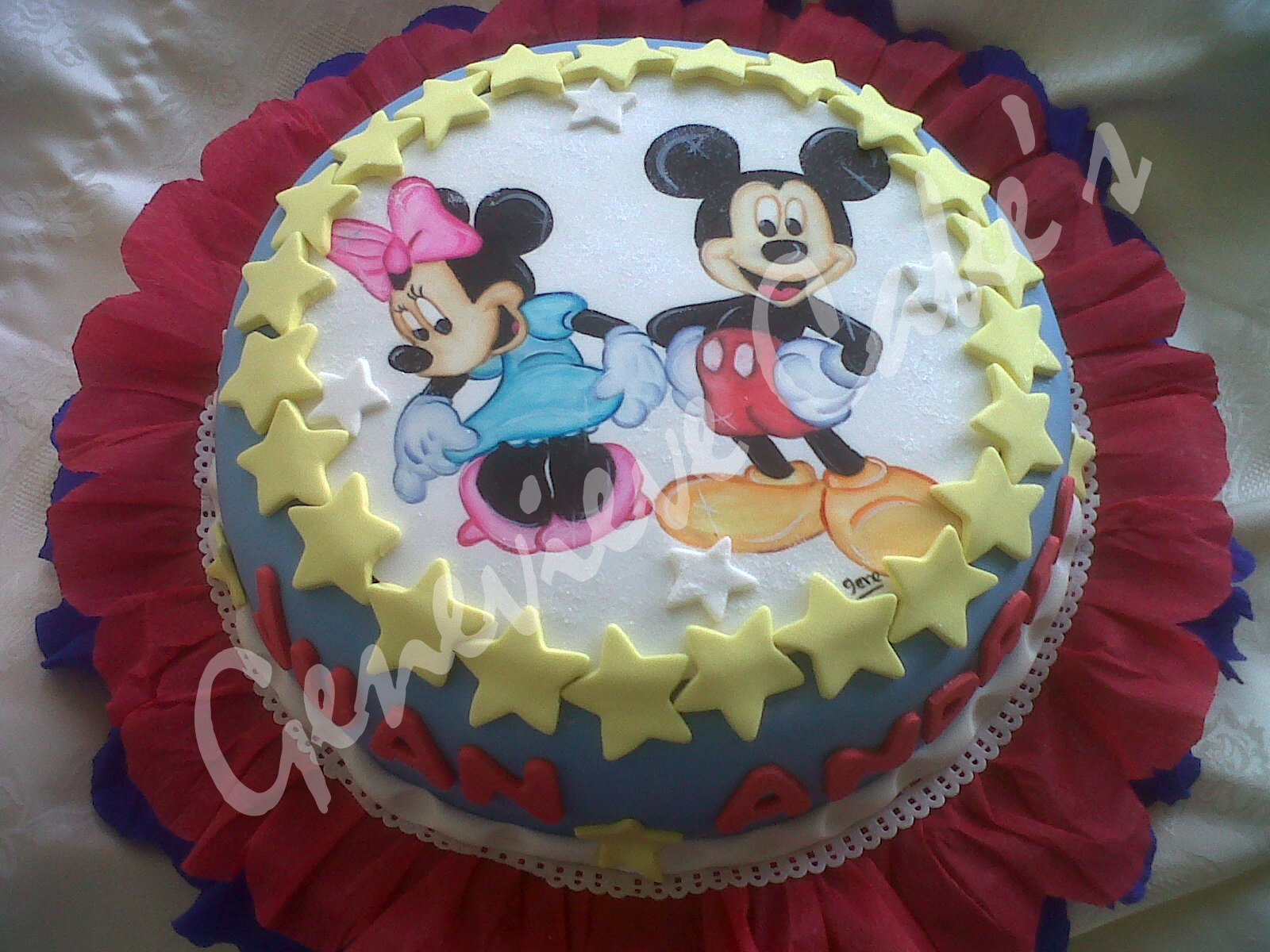Pin Tortas Mickey Cake Pinterest