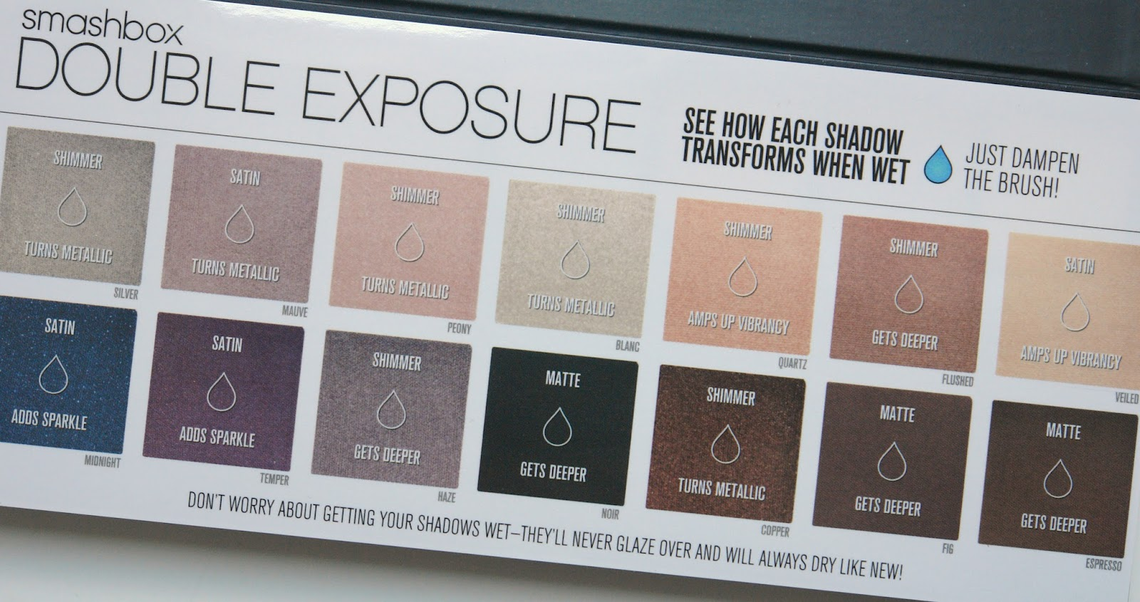 Smashbox Double Exposure Palette review, beauty, eye shadows, make up, palette, review,