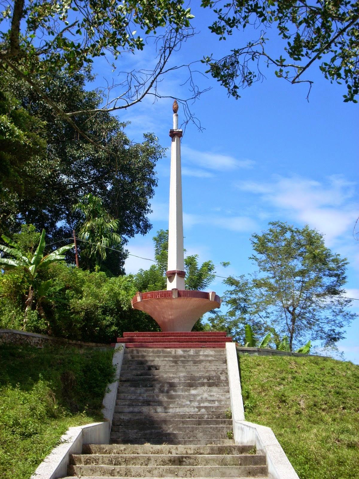 Galeri Tugu Ompu Situmorang di Desa Urat Palipi Kabupaten Samosir