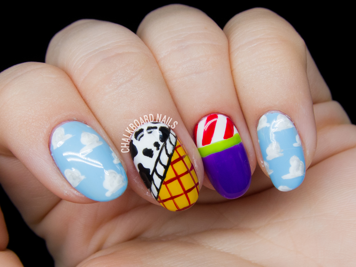 You've Got a Friend In Me! - Toy Story Nail Art