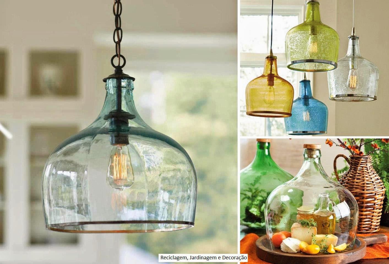 decoracao alternativa rustica:blog de decoração – Arquitrecos: Luminárias criativas!