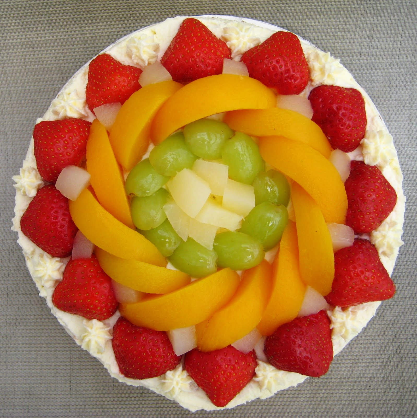 Asian Bakery Fruit Cake