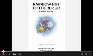 Rainbow Fish to the Resue by Marcus Pfister