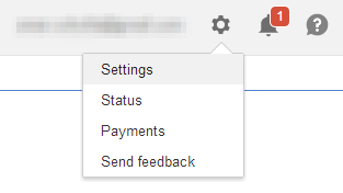 change form of payment in Google Adsense