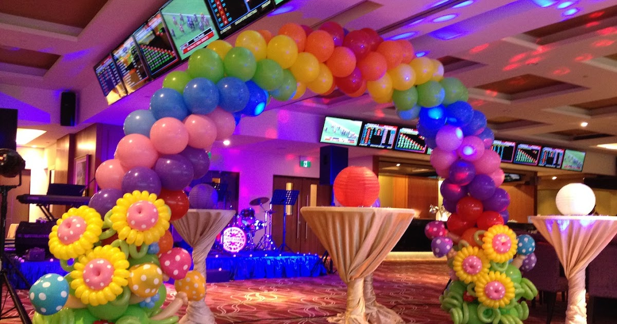 Birthday party organizer party planners party for Balloon decoration in noida