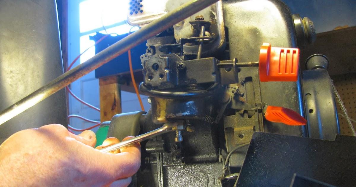 The Original Mechanic  How To Fix An Mtd Snowblower With A