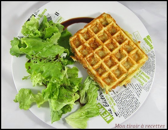 gaufre patate