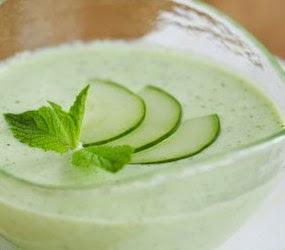 receta vegana sopa pepino
