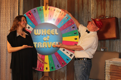 The first episode of KLUK TV's newest show, Wheel of Travel, BOMBS!
