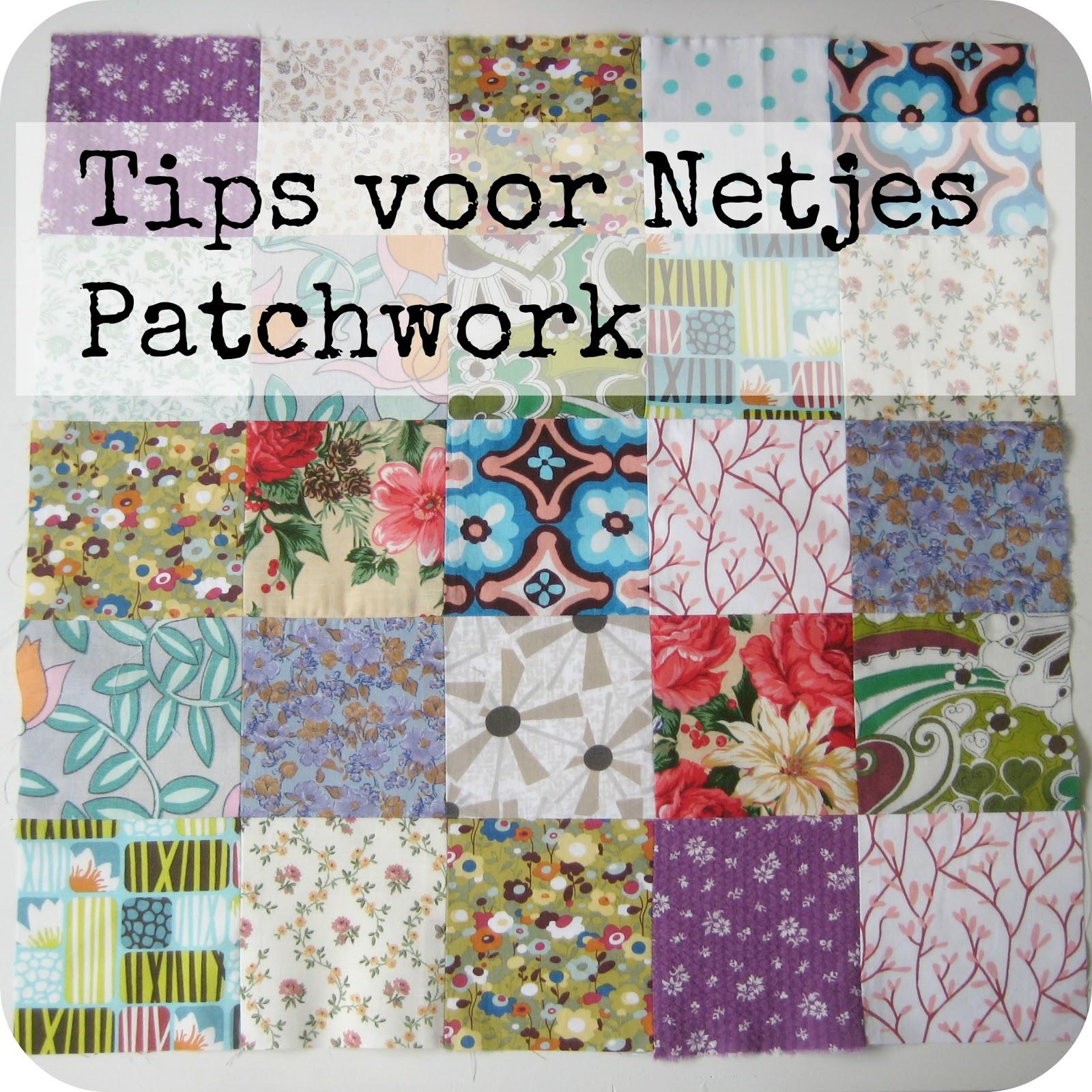 Sew natural blog tips trucs voor netjes patchwork for Quilt maken met naaimachine