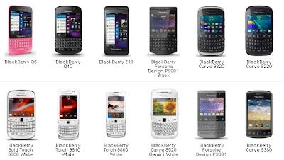 Update Harga BlackBerry September
