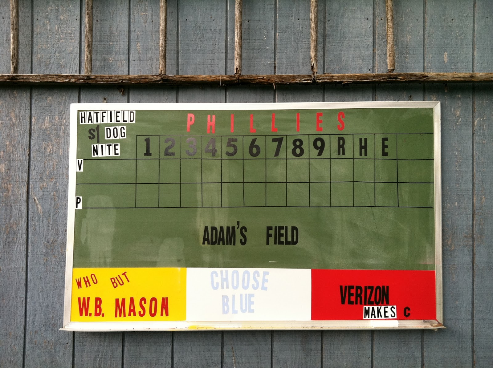 frugal finds from your frugal friend homemade scoreboard