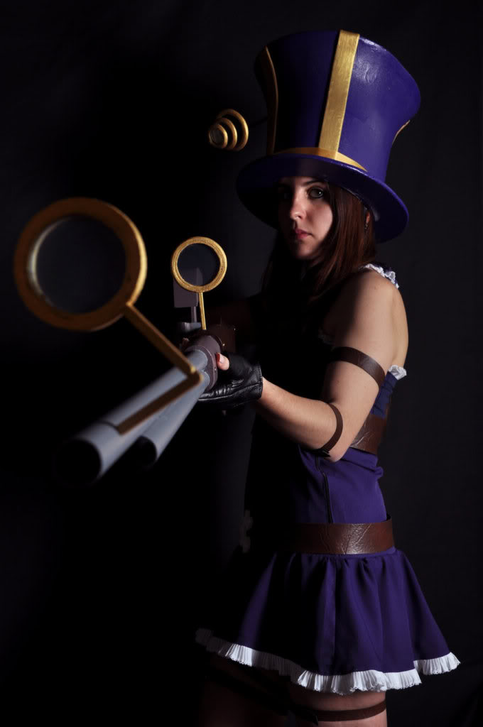 Cosplay League of legends Cait2