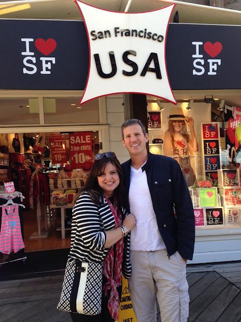 I left my heart in San Francisco!