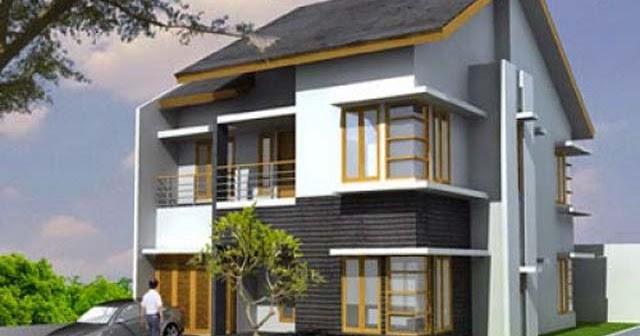 kumpulan model rumah minimalis 2 lantai di lahan sempit