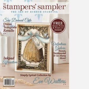 I was published Spring 2015 Stampers' Sampler