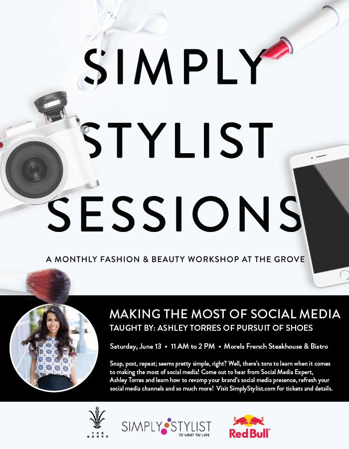 simply stylist, how to learn social media, social media strategy
