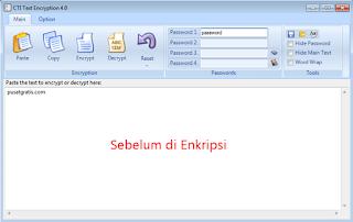 CTI Text Encryption