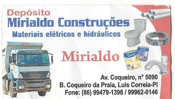 MIRIALDO  CONSTRUÇÕES