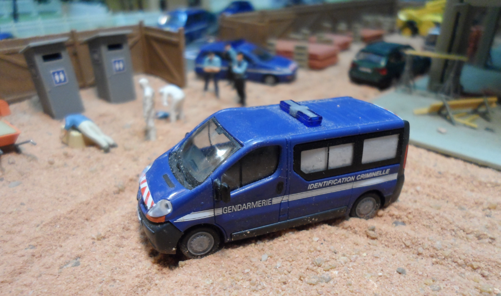 Dioramas de gendarmerie au 1/87