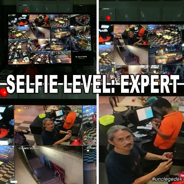 Selfie Uncle Gedek Paling Pro