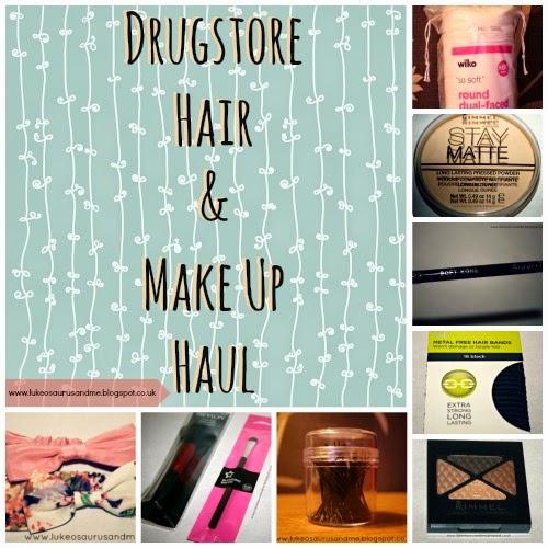 Drugstore Hair & Make Up Haul // www.lukeosaurusandme.blogspot.co.uk
