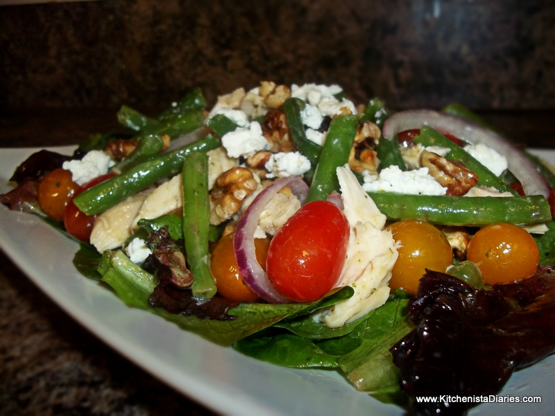 lemon vinaigrette green beans and walnuts with lemon vinaigrette green ...