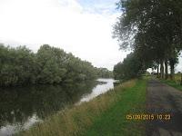 Kanaal Ieper-Ijzer tussen Steenstrate en Drie Grachten