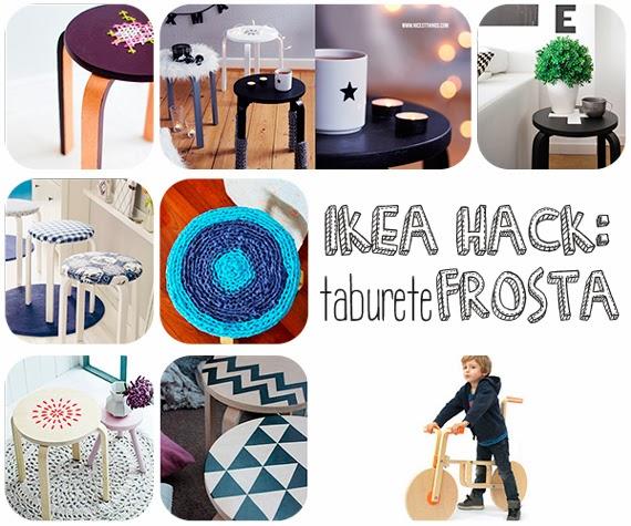 Tunear el taburete Frosta de Ikea