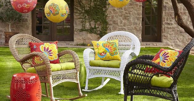 inspirasi desain kursi taman rumah minimalis desain