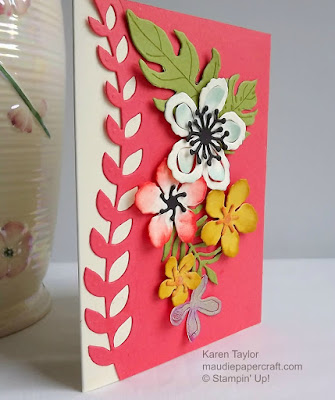 Stampin' Up! botanical blooms card