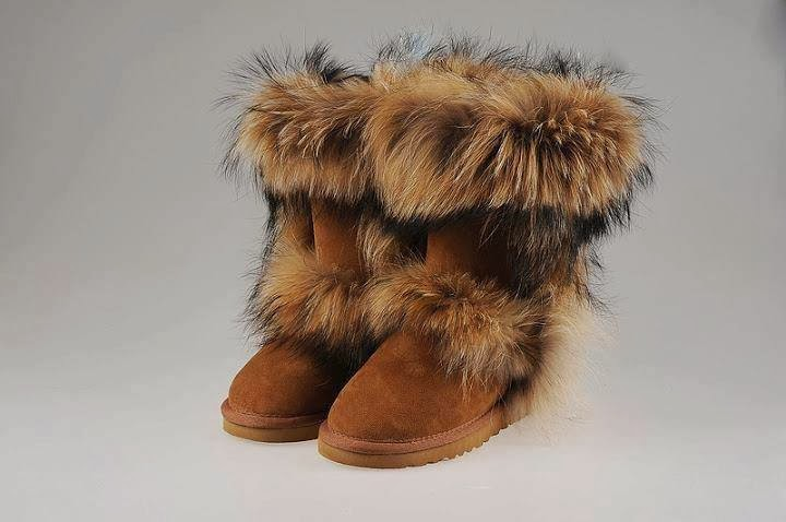 Fur boots.UGG.Snow boots