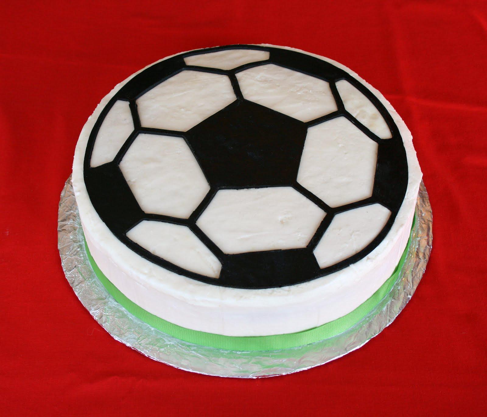paper owl {cassie d ambrosio}: Soccer Ball Cake