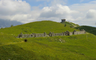 Redoute fortress at Point des Trois Communes