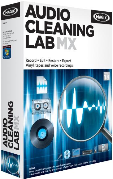 MAGIX Audio Cleaning Lab MX 18 Full Crack - BAGAS31.com