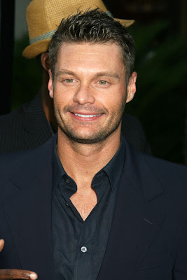 RYAN SEACREST COOL SPIKY HAIRCUT